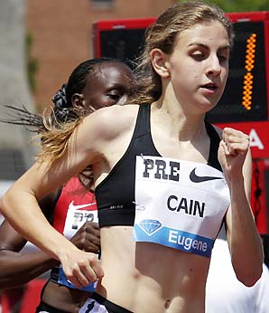 Mary Cain was born two months before the opening ceremony of the 1996 Olympics.