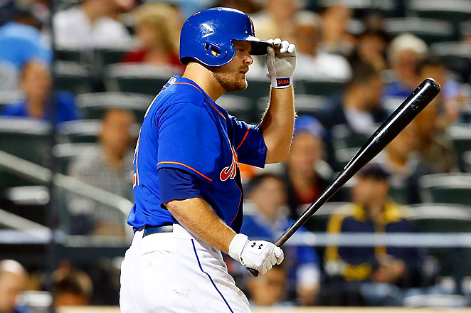 Lucas Duda, usually an outfielder, has been filling in at first base after the demotion of Ike Davis.