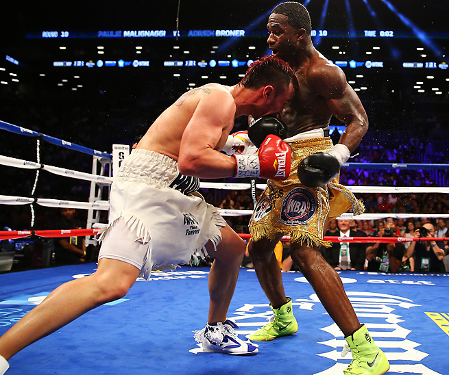 Adrien Broner improved to 27-0 with a win on Saturday night, but the performance felt uninspired.
