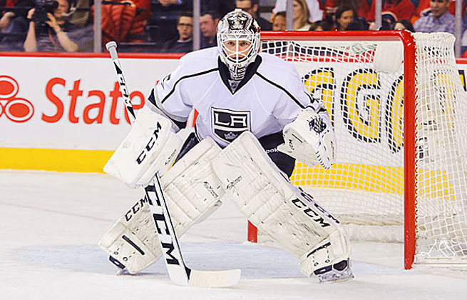 Jonathan Bernier's record was 9-3-1 last season, with a goals-against average of 1.88 and save percentage of .922.