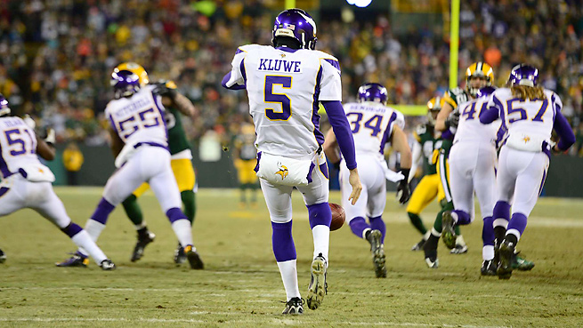 Chris Kluwe signed with the Raiders this offseason after eight years punting for the Vikings.