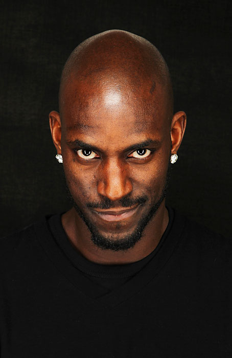 Garnett poses for a portrait as part of the 2011 NBA All-Star Weekend in Los Angeles.