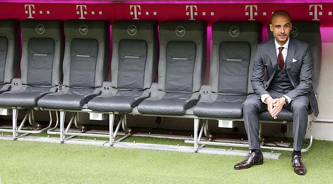 Pep Guardiola takes over a Bayern Munich club coming off a historic treble.