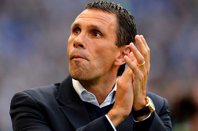 Gus Poyet had been manager at Brighton since 2009.