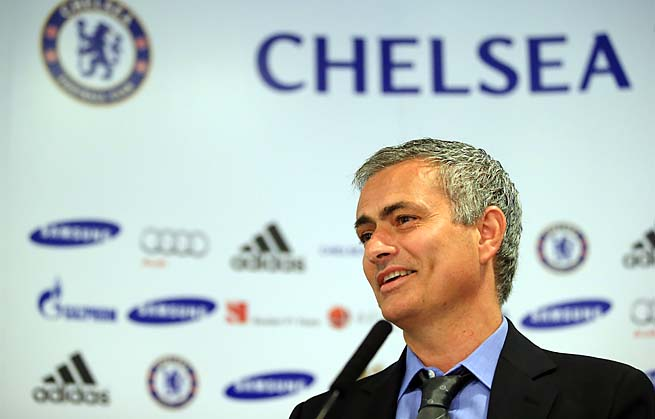 Jose Mourinho takes over Chelsea for a second stint after leaving Real Madrid.