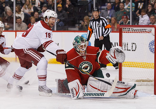 Niklas Backstrom's 24 victories this season were tied for first in the National Hockey League.