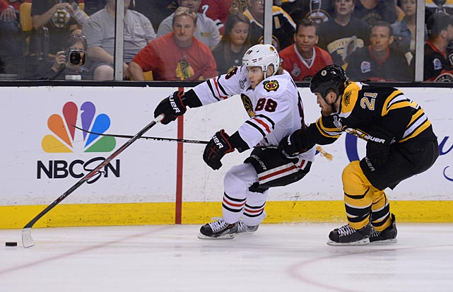 Chicago's Patrick Kane is only the fourth American player to win the Conn Smythe Trophy.