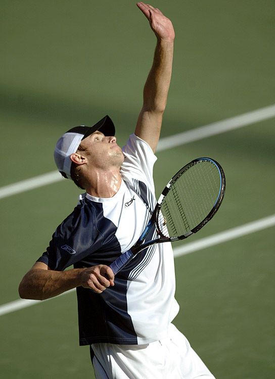 "Babolat, a longtime string maker, didn't introduce a tennis racket until 1994. The big-serving Roddick was one of its first clients, and his success, which included the 2003 U.S. Open title, helped the company become a household name as a racket manufacturer. Babolat is known for its Woofer technology, which Tennis.com describes as ""a grommet system that expands the sweet spot and increases dwell time by engaging more strings upon impact."""
