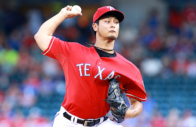 Through 101.1 innings pitched this season, Yu Darvish has a 2.84 ERA and 137 strikeouts.