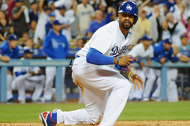 Matt Kemp strained his hamstring in May and missed 24 games with the Dodgers because of the injury.