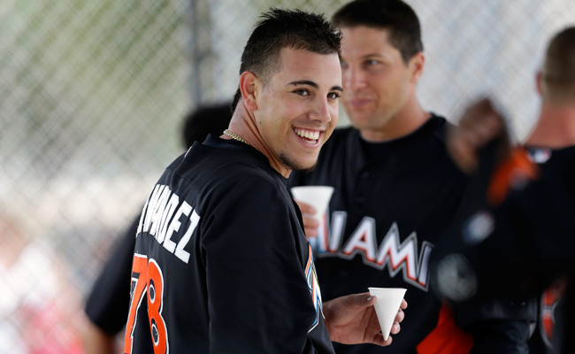 A Class-A pitcher last year, Jose Fernandez made the Miami roster after an impressive spring training.