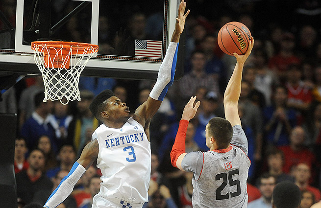 The Cavaliers are expected to choose between Nerlens Noel (left) and Alex Len at No. 1.