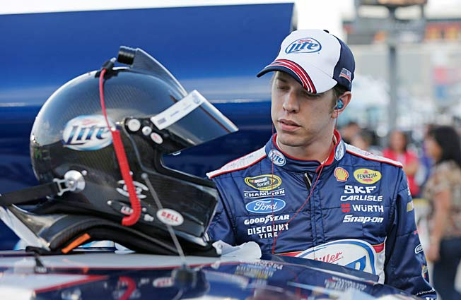Brad Keselowski hopes that Kentucky is again the track that launches him to title contention.