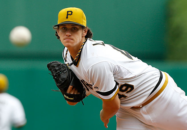 Jeff Locke has been a pleasant surprise for a Pittsburgh rotation that ranks second in the NL in ERA.