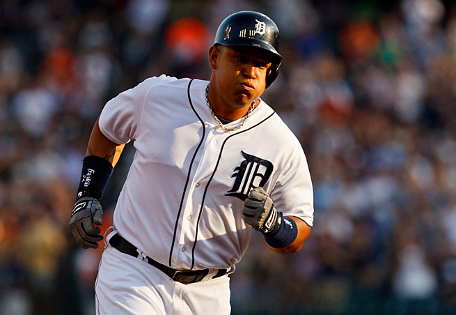 Miguel Cabrera is getting stiff competition as he seeks to defend the AL MVP award he won in 2012.
