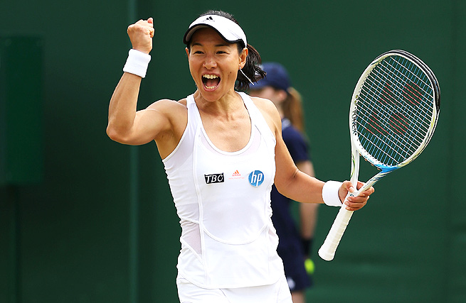 42-year-old Kimiko Date-Krumm will face Serena Williams in her third-round match at Wimbledon.