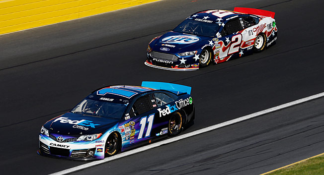 Kentucky is crucial for Denny Hamlin and Brad Keselowski, who are struggling to make the Chase.