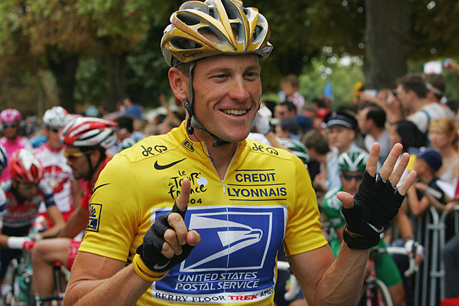 Lance Armstrong won seven Tours de France but has since admitted to using performance-enhancing drugs.