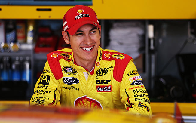 Boyish looks and poor performance cost Joey Logano his ride with JGR, but he's now rising fast.