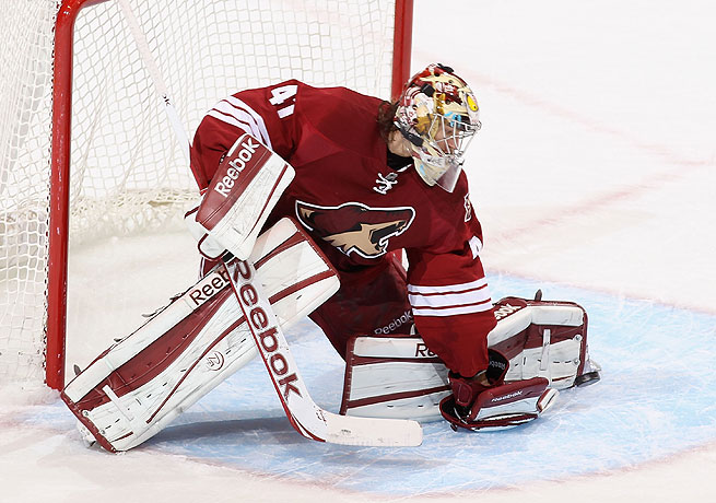 The Coyotes are hoping that Mike Smith will return to the form he exhibited in 2011, his first year with the team.