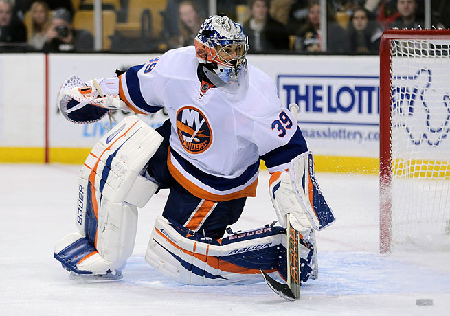 Despite the buyout, Rick DiPietro will be on the Islanders' payroll for the next 16 years.