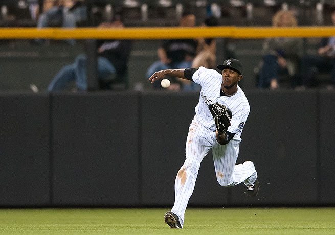 Dexter Fowler is in the middle of another solid season for the Rockies, hitting .291 with 10 home runs.