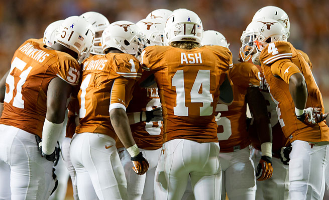 Texas QB David Ash will lead a 'Horns' offense that should have plenty of playmaking options this fall.