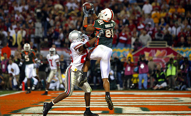 Tight end Kellen Winslow was one of 37 NFL draft picks who played in the Miami-Ohio State title game.