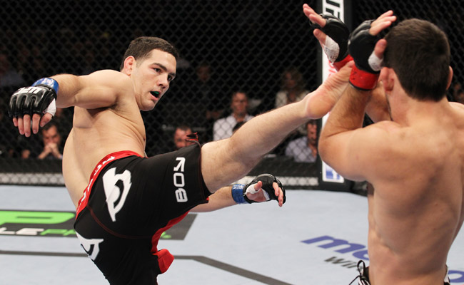 Chris Weidman defeated Demian Maia in January 2012; he's had just one other fight since.