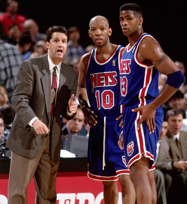 He's a legend in college basketball, but John Calipari was just another struggling head coach when he was with the New Jersey Nets from 1996-1999. Calipari won just 26 games his first season, but managed to make the playoffs the next as the No. 8 seed before being swept by the Bulls. In 1998-99, the season we delayed by the owners' lockout, but it was just delaying the inevitable for Calipari. The current Kentucky coach went just 3-17 before being let go.