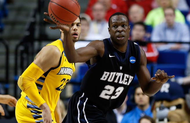 Butler's Khyle Marshall said players 'took it very hard' when they learned Brad Stevens was leaving.