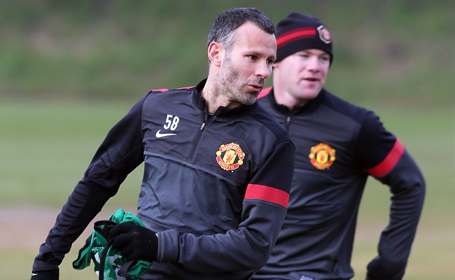 Ryan Giggs started in 12 Premier League games for Manchester United last season.