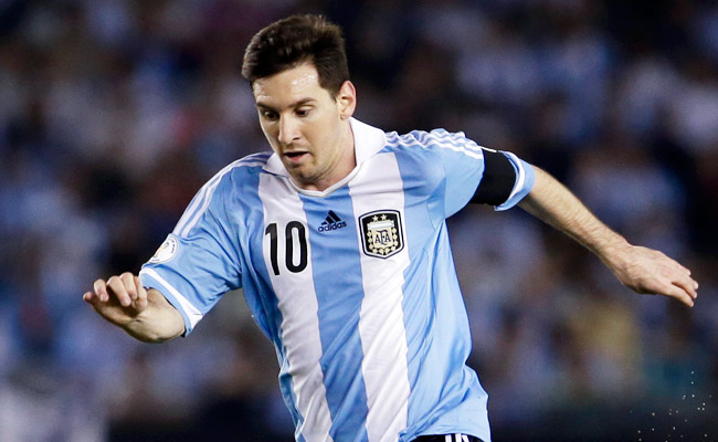 Argentine star Lionel Messi would be 42 years old at the start of the 2030 World Cup.