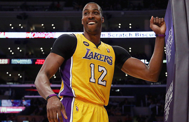 Dwight Howard is reportedly deciding between the Lakers, Rockets, Mavericks, Hawks and Warriors.