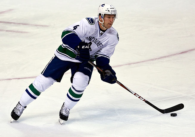 Keith Ballard spent last season with the Canucks, where he registered two assists in 36 games.