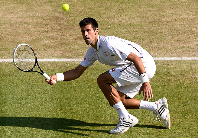 Novak Djokovic and Juan Martin del Potro had 64 rallies of over nine shots in the five-set match.