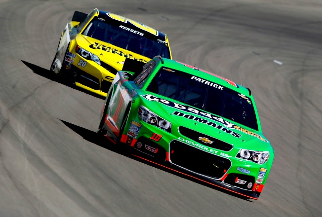 Look for a thrilling late duel to the checkers from Danica Patrick and Matt Kenseth at Daytona.