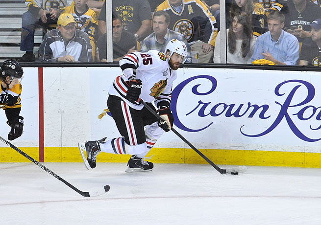 New Predator Viktor Stalberg is coming off of a Stanley Cup win with the Chicago Blackhawks.