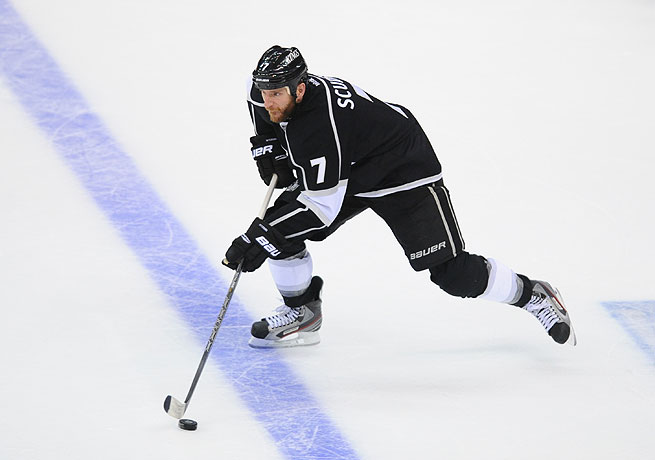Rob Scuderi won a Stanley Cup with the Kings to go with his championship in Pittsburgh in 2009.
