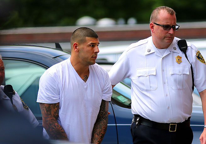 Aaron Hernandez is being investigated for the murder of semi-pro football player Odin Lloyd.