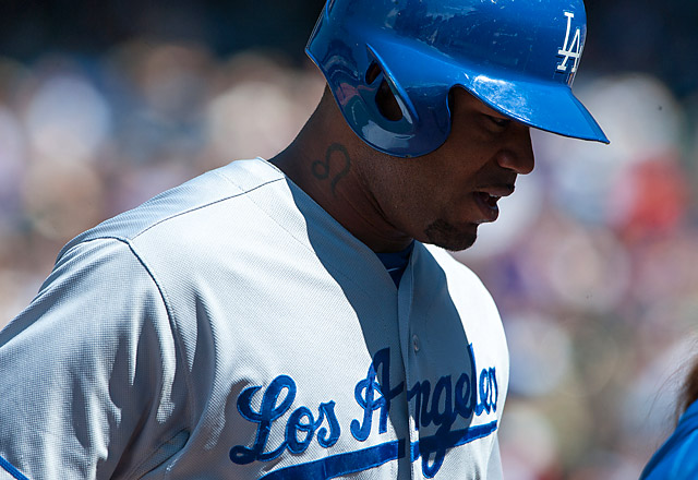 Carl Crawford last played a game for the Dodgers on June 1, when he suffered a strained hamstring.