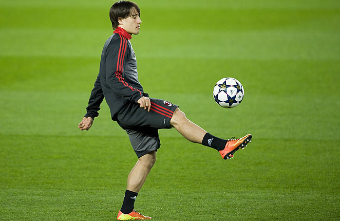 Bojan, 22, has spent the last two seasons on loan to Italian sides after struggling for a first team place at Barcelona.