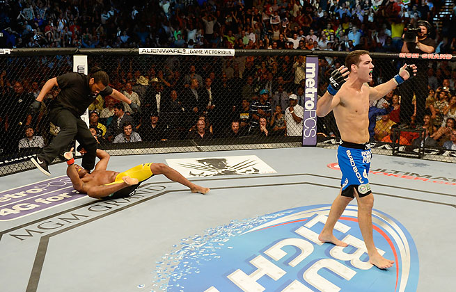Chris Weidman ended Anderson Silva's middleweight reign with a 2nd-round knockout in UFC 162.