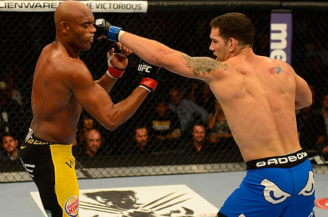 Chris Weidman stopped Anderson Silva in the second round of the main event at UFC 162 to become the UFC's new middleweight champion.