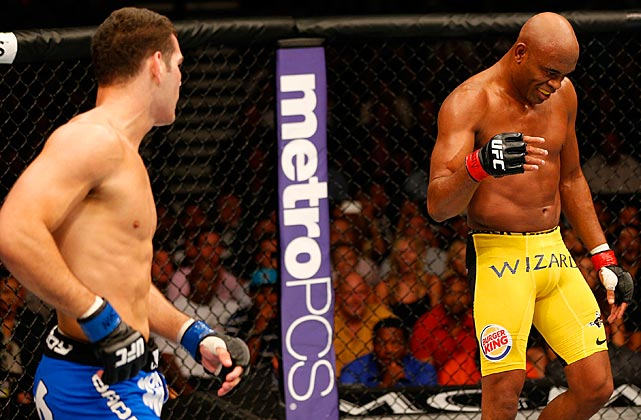 When asked after the bout if the taunting antics were disrespectful, Weidman said he understood that Silva was simply trying to psyche him out.
