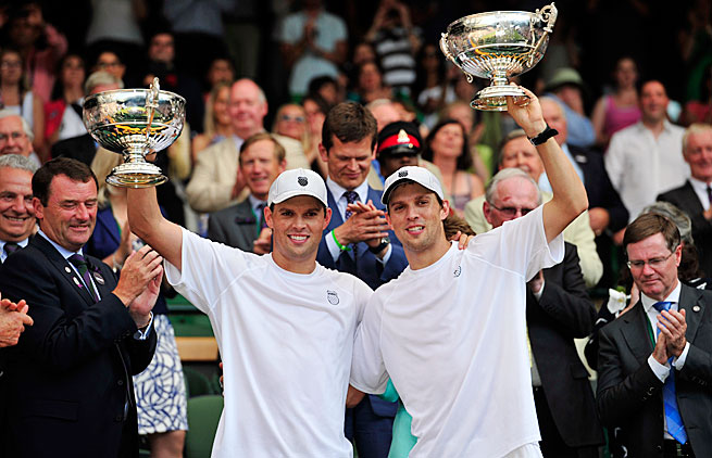 The Bryan brothers are the reigning champions at all four Grand Slams and the Summer Olympics.