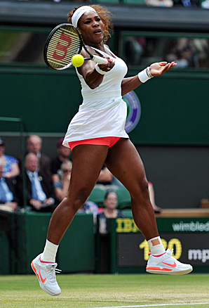 Serena Williams squandered a 3-0 third-set lead in a fourth-round loss to Sabine Lisicki.