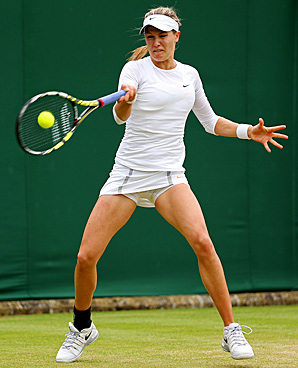 Eugenie Bouchard, 19, made the third round at Wimbledon in her second appearance in a Grand Slam main draw.
