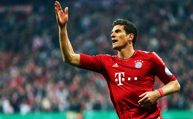 Mario Gomez joined Bayern Munich in 2009, scoring 112 goals in 172 games for the team.