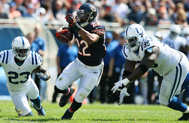Chicago's Matt Forte should catch far more passes in 2013, which could make him a top fantasy back.